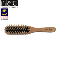 NAT BW1 Natural Bamboo Wood High Quality Wooden Comb Paddle Brush