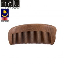 NAT E9835 Natural High Quality Anti Static Wooden Comb