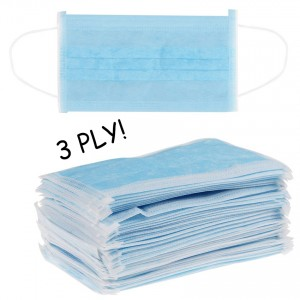 3 Ply Kids Ear Loop Surgical Medical Anti-Haze Face Mask Mouth (50 Pieces Per Box)