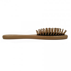 NAT BW5 Natural Bamboo Wood High Quality Wooden Comb Paddle Brush