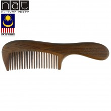 NAT 9828 Natural High Quality Anti Static Wooden Sandalwood Comb