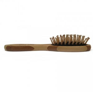 NAT BW10 Natural Bamboo Wood High Quality Wooden Comb Paddle Brush
