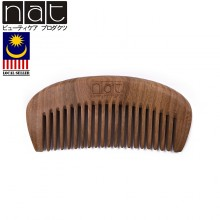NAT E9836 Natural High Quality Anti Static Wooden Comb