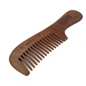NAT 9818 Natural High Quality Anti Static Wooden Comb