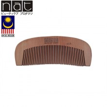 NAT 608 Natural High Quality Anti Static Wooden Comb