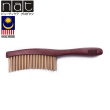 NAT E9838 Natural High Quality Anti Static Premium Wooden Comb