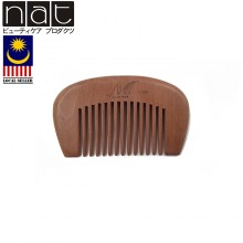 NAT 9608 Natural High Quality Anti Static Wooden Comb