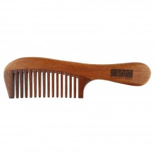 NAT 9834 Natural Red Sandalwood High Quality Wooden Comb
