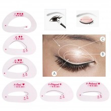 FP759 Easy Eyeshadow Stencil & Template (6 PCS)