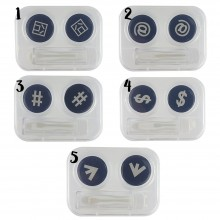OTR24 Symbols Contact Lense Applicator & Case