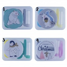 OTR37 Christmas Contact Lense Applicator & Case