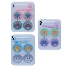 OTR42 Cute Animals Contact Lense Applicator & Case