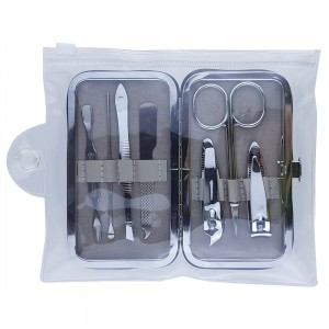 NC79 Professional 7 Piece Manicure & Pedicure Set With Cute Animal Case