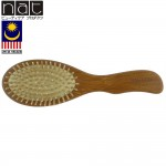 NAT BW16 Natural Bamboo Wood High Quality Wooden Comb Paddle Brush