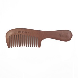 NAT 9918 NEW NATURAL HIGH QUALITY ANTI STATIC WOODEN COMB
