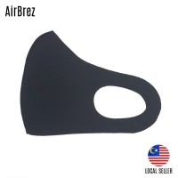 2 PCS WOW AIRBREZ BREATHABLE WASHABLE FACE MASK KIDS ADULT