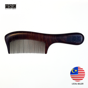 NAT 9845 NEW NATURAL HIGH QUALITY ANTI STATIC WOODEN COMB